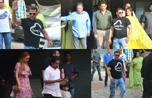Salman Khan Celebrates Raksha Bandhan With Family (Photo)